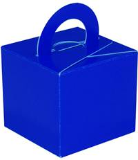 GIFT BOX WEIGHT FLAT BLUE (10 PER PACK)