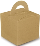 GIFT BOX WEIGHT FLAT CRAFT NATURAL (10 PER PACK)