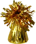 FOIL BALLOON WEIGHTS GOLD (BOX OF 12)