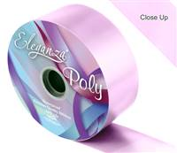ELEGANZA POLY RIBBON LIGHT PINK 50MM X 91M (100YDS)