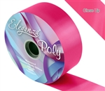ELEGANZA POLY RIBBON CERISE PINK 50MM X 91M (100YDS)