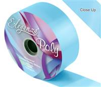 ELEGANZA POLY RIBBON LIGHT BLUE 50MM X 91M (100YDS)