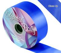 ELEGANZA POLY RIBBON ROYAL BLUE 50MM X 91M (100YDS)