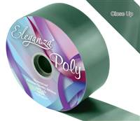 ELEGANZA POLY RIBBON GREEN 50MM X 91M (100YDS)