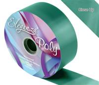 ELEGANZA POLY RIBBON EMERALD GREEN 50MM X 91M (100YDS)
