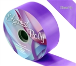 ELEGANZA POLY RIBBON VIOLET 50MM X 91M (100YDS)