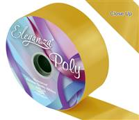 ELEGANZA POLY RIBBON GOLD 50MM X 91M (100YDS)