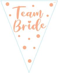BUNTING TEAM BRIDE 11 FLAGS 3.9M