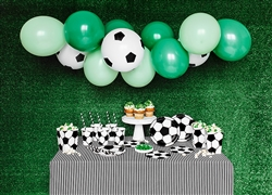 Party Decoration Set Football Soccer