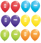 Qualatex Pride Latex Balloons Ireland