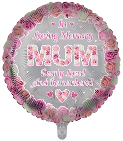 In Loving Memory Mum Foil