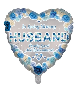 In Loving Memory Husband Foil
