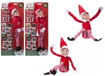 446070 Bendable Poseable Red Elf Figure