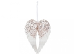 513476z Rose Gold Hanging Acrylic Wings