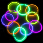 BRACELETS: PARTY GLOW BRACELETS (PACK OF 4)
