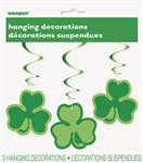 3 CLOVER HANGING SWIRLS (3 PER PACK)