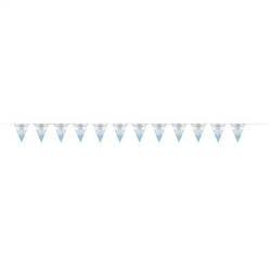 BANNER: CONFIRMATION BLUE FLAG BANNER 9FT