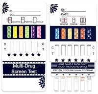 drug confirm k2 12 panel dip test card