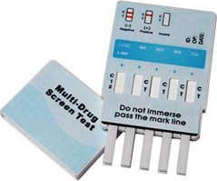 Multi 4 panel drug test screen