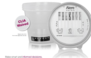 Tox cup drug test screen 14 panel clia waived