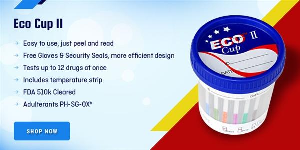 ECO III 5 Panel Drug Test Cup