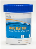 drugconfirm drug test screen 14 panel clia waived
