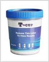 T-cup drug test screen 14 panel clia waived