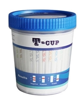 Tcup drug test screen 5 panel clia waived