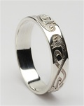 Ladies Celtic Le Cheile Wedding Rings LG-WED103