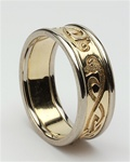 Ladies Celtic Wedding Rings LG-WED105