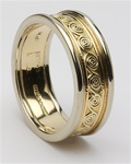 Ladies Celtic Wedding Rings LG-WED115