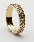 Ladies Celtic Closed Knot Wedding Rings LG-WED83