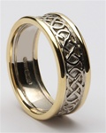 Ladies Celtic Wedding Rings LG-WED87