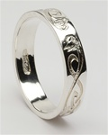 Mens Celtic Le Cheile Wedding Rings MG-WED104