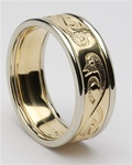 Mens Celtic Wedding Rings MG-WED106