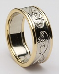 Mens Celtic Wedding Rings MG-WED108