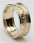 Mens Celtic Wedding Rings MG-WED116