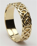 Mens Celtic Closed Knot Wedding Rings MG-WED84