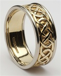 Mens Celtic Wedding Rings MG-WED86