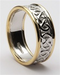 Mens Celtic Wedding Rings MG-WED88