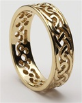 Mens Celtic Filigree Wedding Rings MG-WED94