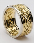 Mens Celtic Wedding Rings MG-WED96