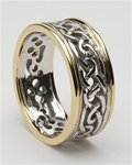 Mens Celtic Wedding Rings MG-WED98