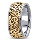 Unisex Celtic Wedding Rings UUG-HM209