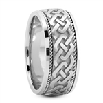 Unisex Celtic Wedding Rings UUG-HM210