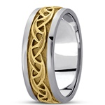 Celtic Wedding Rings UUG-HM226