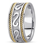 Unisex Celtic Wedding Rings UUG-HM253