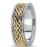 Celtic Wedding Rings UUG-HM403