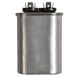 Capacitor Oval Single Section 3 MFD 370/440VAC