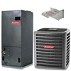 2 Ton Goodman 16 SEER Two Stage Central System GSXC160241, AVPTC25B14 Variable Speed